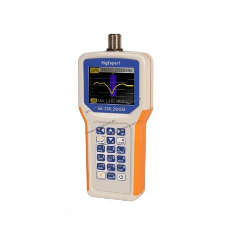 RIGEXPERT - AA-230ZOOM - analyseur de 0,1 à 230 MHz