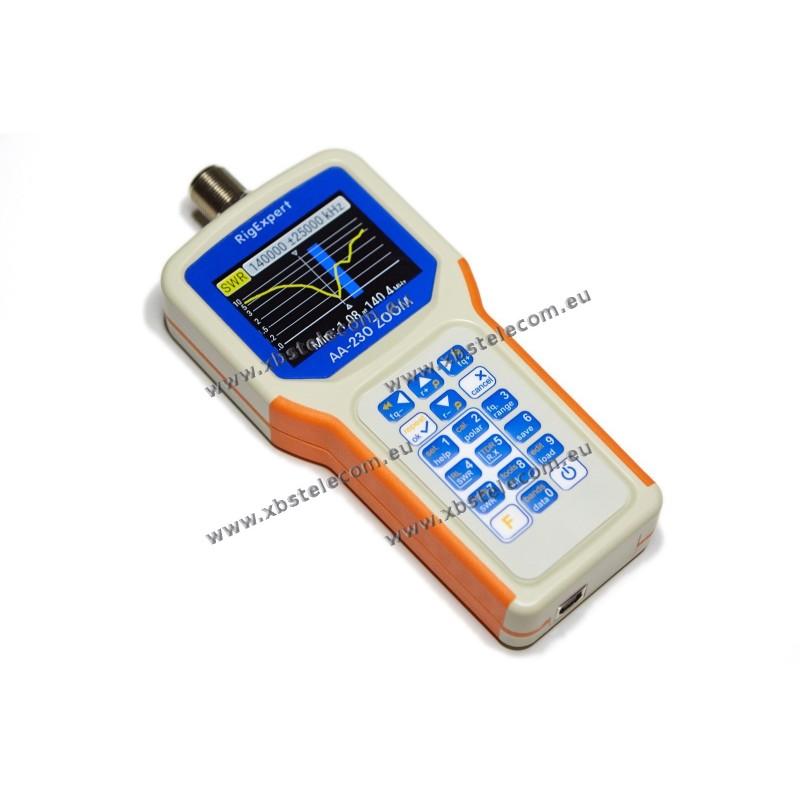 RIGEXPERT - AA-230ZOOM - antenna analyzer 0 1 à 230 MHz