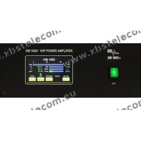 OM POWER - OM-1002 - OM + Amplificateur de puissance