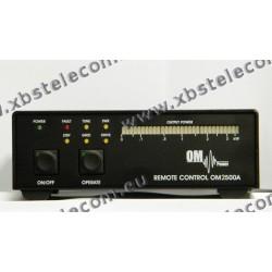 OM POWER - OM-2500AR - Amplificateur de commande à distance