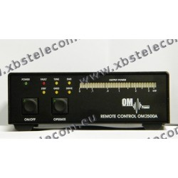 OM POWER - OM-2500AR - Remote control amplificatore