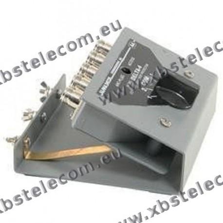 ALPHA DELTA - ASC-4BN - Coaxial Console Switch 4 voies 1500 Watt CW
