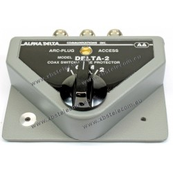 ALPHA DELTA - DELTA-2B - Coaxial 2-way switch 1500 Watt CW