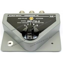 ALPHA DELTA - DELTA-2N - Commutateur Connecteurs coaxiaux 2 voies N (1500 Watt CW)