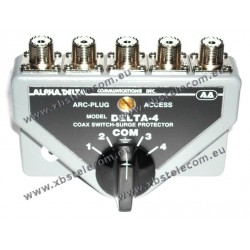 ALPHA DELTA - DELTA-4B - Coaxial commutateur 4 voies (1500 watts CW)