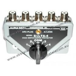 ALPHA DELTA - DELTA-4B - Commutatore Coassiale a 4 vie (1500 Watt CW)