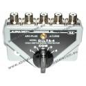 ALPHA DELTA - DELTA-4B - Coaxial commutateur 4 Way  (1500 watts CW) - PL
