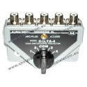 ALPHA DELTA - DELTA-4B - Commutatore Coassiale a 4 vie (1500 Watt CW)