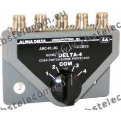 ALPHA DELTA - DELTA-4B/N - Commutatore Coassiale a 4 vie (1500 Watt CW)
