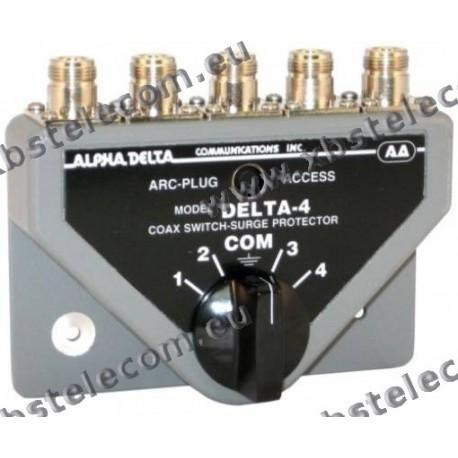 ALPHA DELTA - DELTA-4B/N - Commutatore Coassiale a 4 vie (1500 Watt CW)