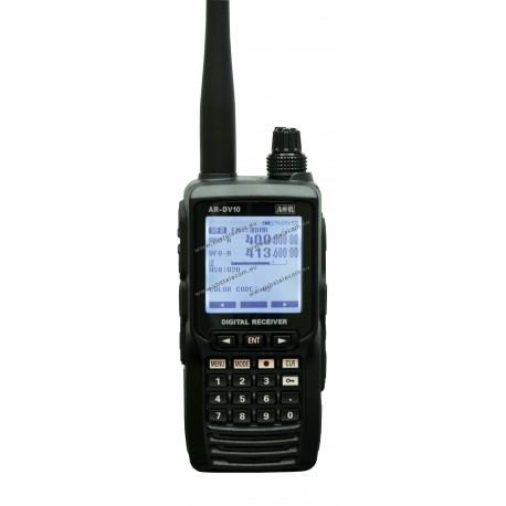 AOR - AR-DV10 - Ricevitore portatile analogico-digitale  da 100KHz a 1300MHz
