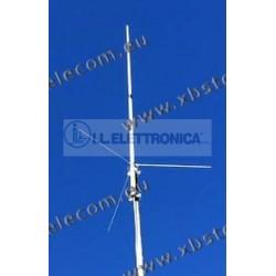 COMTRAK - X-200N - Antenna collineare ad alto rendimento 144//430 gain 6.0//8.0 dB con 3 radialini connettore N