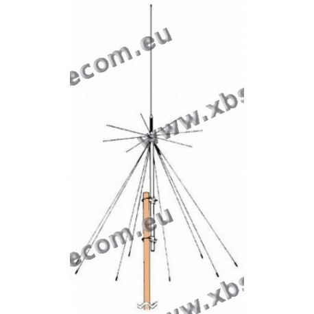 DIAMOND - D-130 - ANTENNE Discone pour la réception 25-1300 MHz - 50/144/430/1200 MHZ TX
