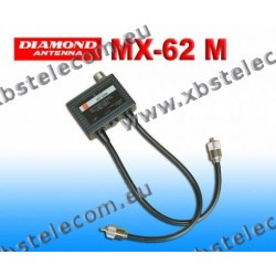 DIAMOND - MX-62M - Duplexer 1.6-56 / 76-470 MHz