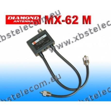 DIAMOND - MX-62M - Duplexeur 1,6 à 56 / 76-470 MHz