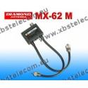 DIAMOND - MX-62M - Duplexer 1,6 à 56 / 76-470 MHz