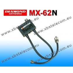 DIAMOND - MX-62N - Duplexeur 1,6 à 56 / 76-470 MHz