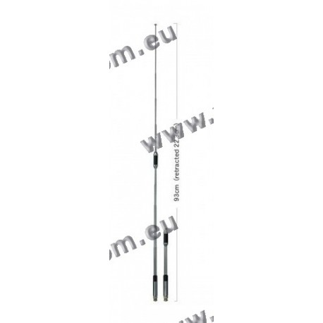 DIAMOND - RH-770 - Antenna Telescopica VHF/UHF HIGH GAIN CONNETTORE BNC 93 cm