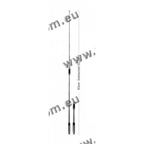 DIAMOND - RH-770 - Antenne télescopique VHF / UHF à gain élevé BNC 93 cm