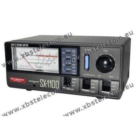 DIAMOND - SX-1100 - SWR mètre / puissance HF / VHF / UHF / SHF