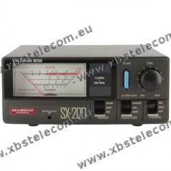 DIAMOND - SX-200 - SWR mètre / puissance de 1,8 à 200 MHz - 5/20/200 Watt