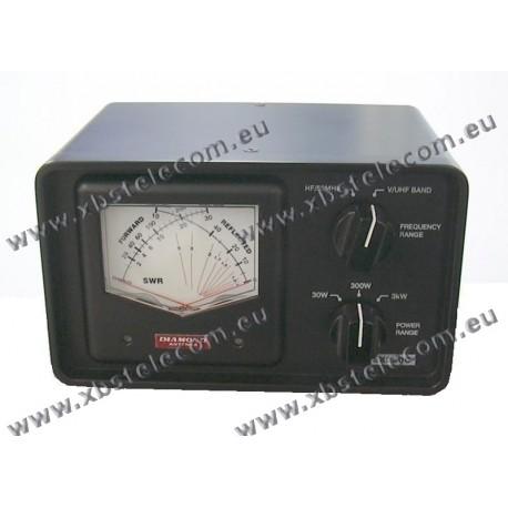 DIAMOND - SX-240C - SWR mètre / puissance 1,8-54MHz et 140-470MHz