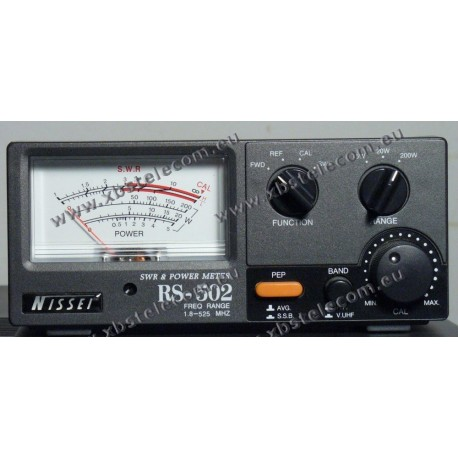 NISSEI - RS-502 - SWR/POWER  Mètre Max.200W - 1.8-525 MHZ