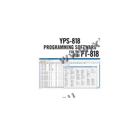 Yaesu - YPS-818 - Programming software + cable for FT-818