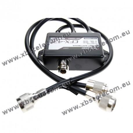 COMET - CFX-431A - New version for Icom IC-9700, Triplexer: 1.3-150 MHz / 350-500 MHz / 900-1400 MHz