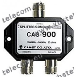 COMET - CAS-900 - Antenna splitter / combiner for receiving 1000 KHz - 900 MHz