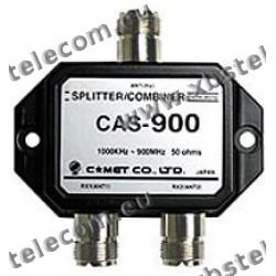 COMET - CAS-900 - Antenna splitter / combiner for receiving 1000 KHz - 900 MHz