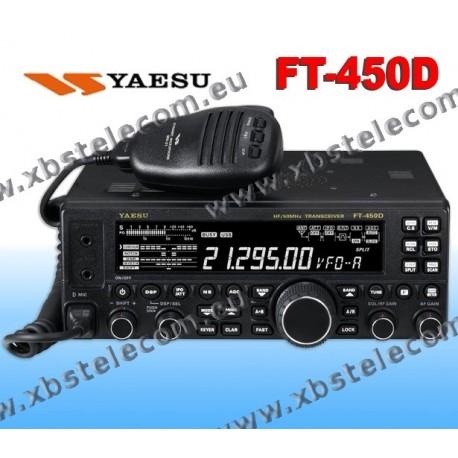 Yaesu - FT-450D - BASE HF/50MHZ - DSP - XBS TELECOM s a
