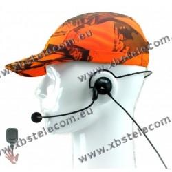 CRT - headphone-microphone - Ultra-light headphone-microphone combination VL