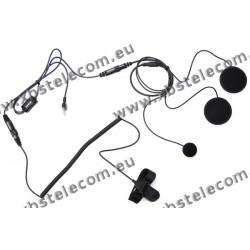 MAAS - HS-2000-PRO-K - helmet headset for closed