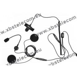 MAAS - HS-4000 PRO-K - helmet headset for open helmets
