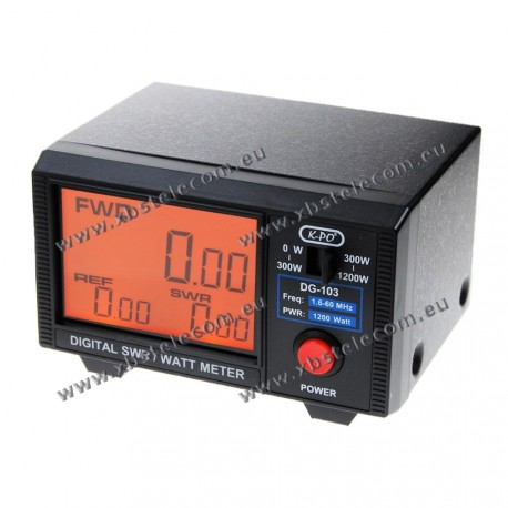 OEM - DG-103N -SWR/Watt Meter Max 1200 Watts - version HF