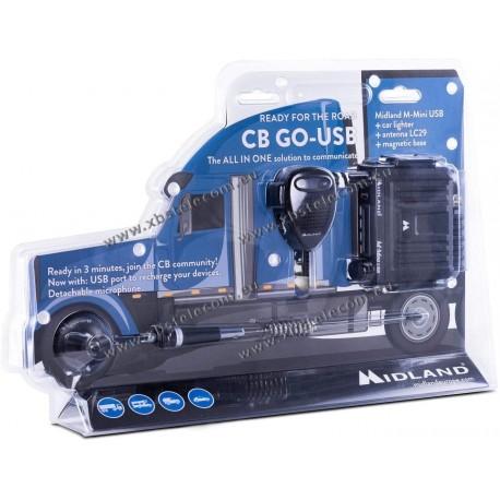 MIDLAND - CB-GO USB - CB 40 CH - 4 W - USB