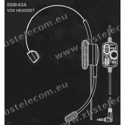 Yaesu - SSM-63A - Micro casque (vox)