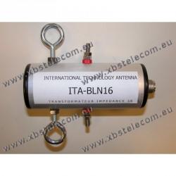ITA - BLN16 - Balun de rapport 1:6 (50 Ω:300 Ω)