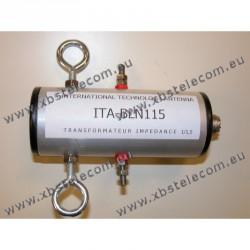 ITA - BLN115 - Balun de rapport 1:1,5 (50 Ω:75 Ω)