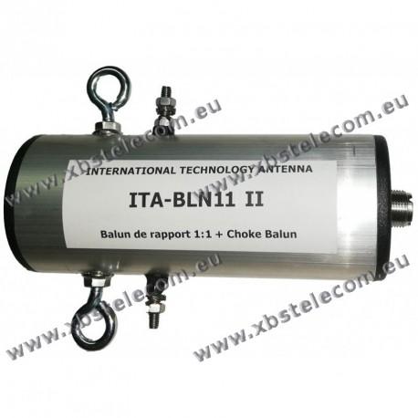 ITA - BLN11II - Balun de rapport 1:1 + choke balun