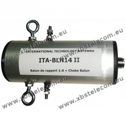 ITA - BLN14 II - Balun de rapport 1:4 + choke balun