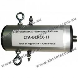ITA - BLN16II - Balun de rapport 1:6 + choke balun