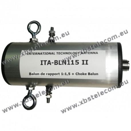 ITA - BLN115II - Balun de rapport 1:1,5 + choke balun