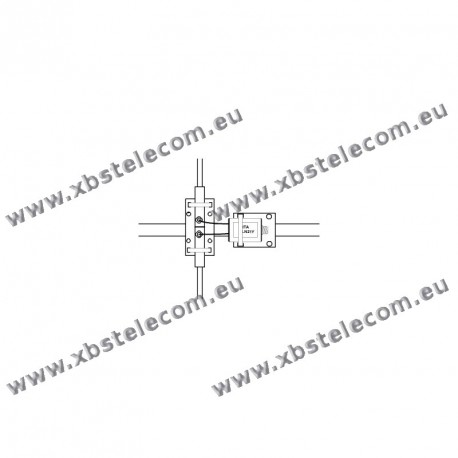 ITA - BLN115Y - Balun de rapport 1:1,5 (50 Ω:75 Ω)