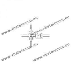ITA - BLN12C - Balun de rapport 1:2 (50 Ω:100 Ω)