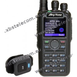 ANYTONE - AT-D878UVII - VHF/UHF - FM/DMR - APRX RX and 500.000 digital contacts.