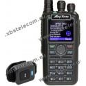 ANYTONE - AT-D878UVII - VHF/UHF - FM/DMR - BLUETOOH - APRX RX con 500.000 digital contatti.