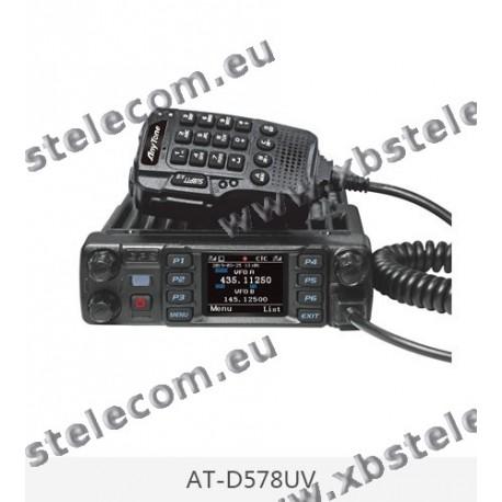 ANYTONE - AT-D578UV PLUS - VHF / UHF - FM / DMR - APRS - APRX