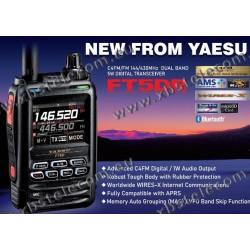 YAESU - FT-5DE - VHF/UHF - C4FM - Bluetooth - RX-Bande Aviation/HF